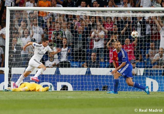 رئال مادرید - بازل
