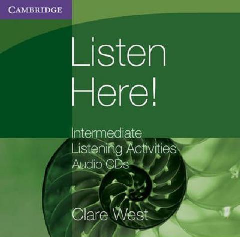 Listen here کتاب لیسنینگ برای تقویت مهارت شنیداری