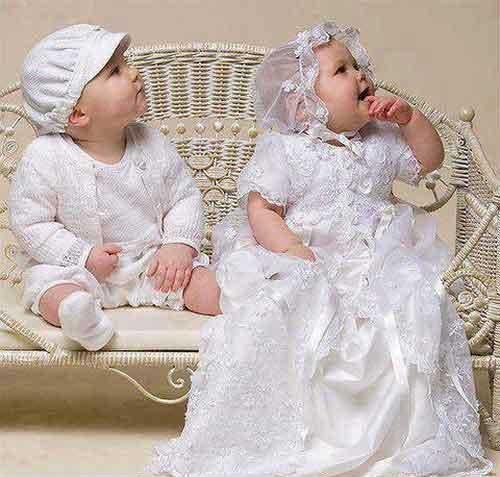عکس جالب دختر و پسر کوچولو که عروس و داماد شدند
