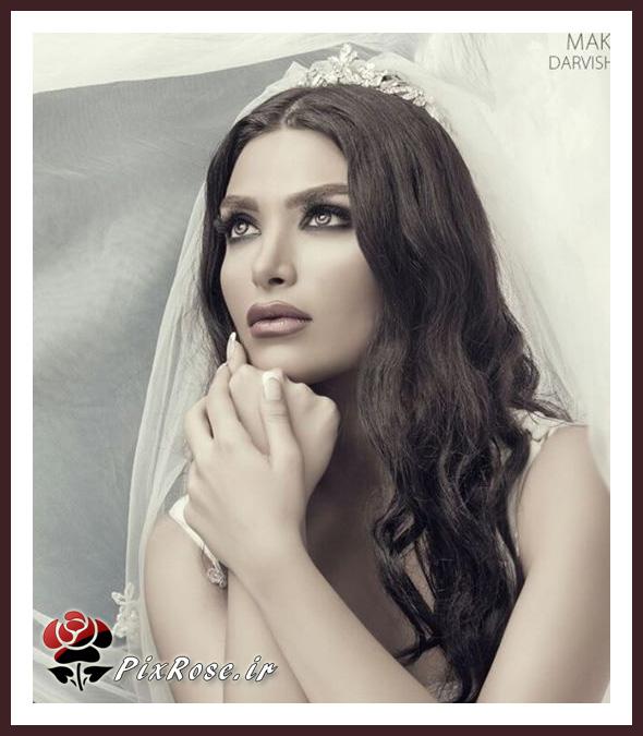 عروس مو مشکی
