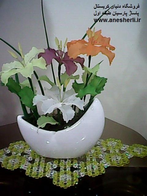 عکس گل کریستال جدید