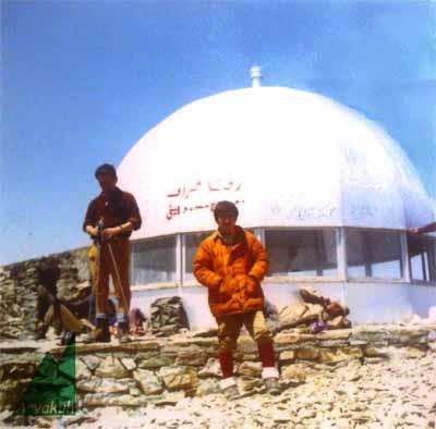 تصویر قدیمی از جانپناه اردلان قله توچال
