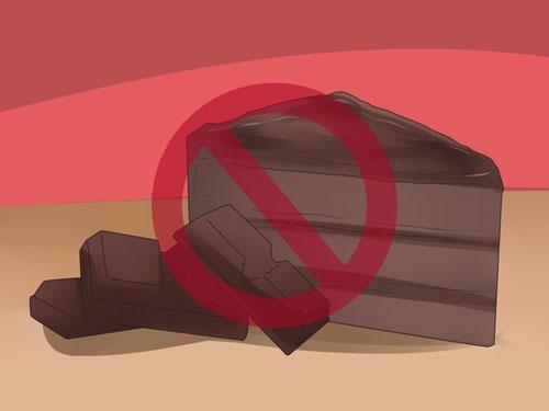 خوردن شکلات و چیپس برای کاهش وزن ممنوع است