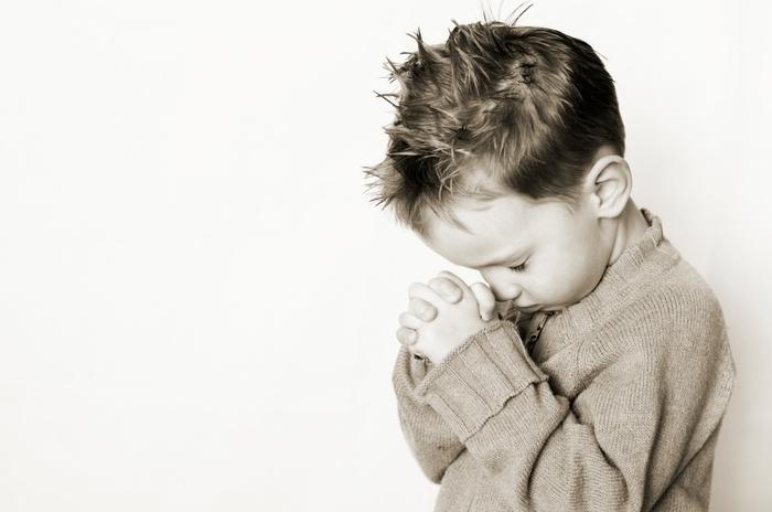 دعا بچه کودک ناز