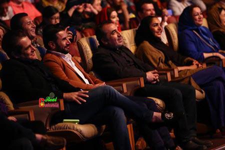عکس محمدرضا گلزار در کنسرت فان حسن ریوندی