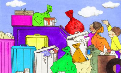 آموزش بازیافت زباله ها برای کودکان