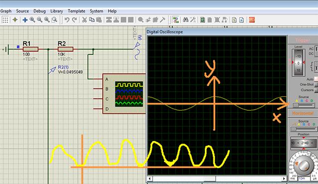محاسبه ولتاژ منفی در adc