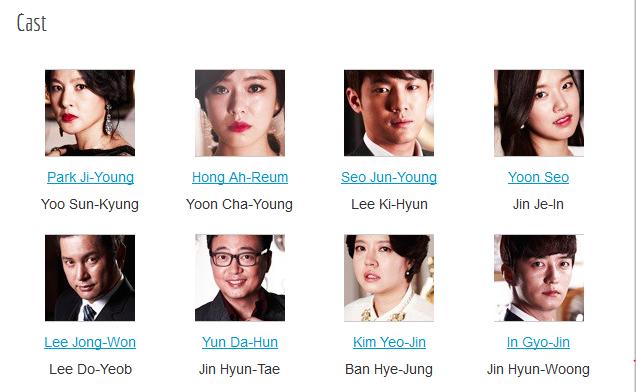 عکس بازیگران سریال کره ای اشک های بهشت Tears of Heaven 2014