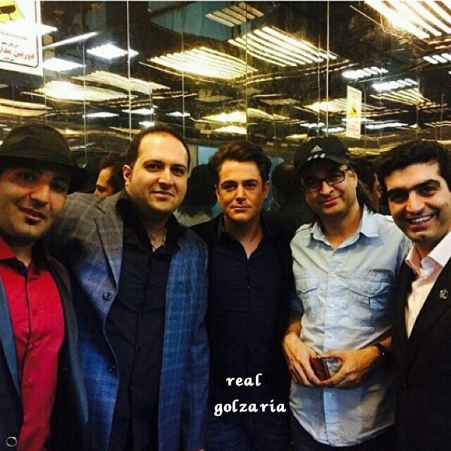 محمدرضا گلزار در کنسرت پاشایی