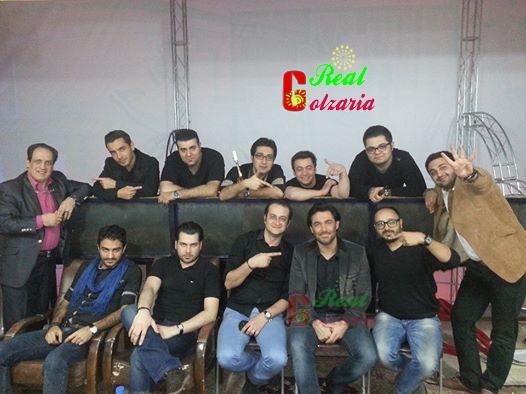 عکس های محمدرضا گلزار و گروه ریززار در جشن سالانه یزد