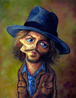 کاریکاتورهای جانی دپ (Johnny Depp)