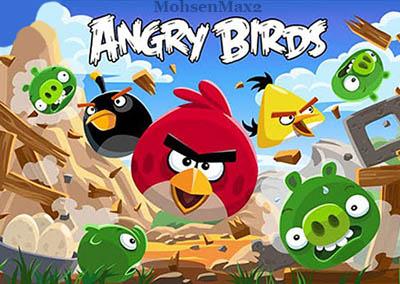 پرندگان خشمگین با فرمت جاوا