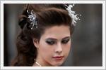 آرایش موی باز عروس