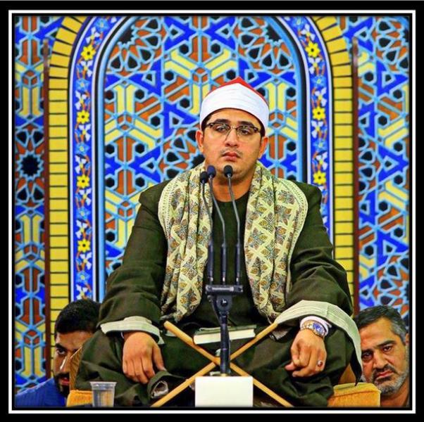 تلاوت زیبای استاد محمود شحات در محضر رهبری/خردادماه1394