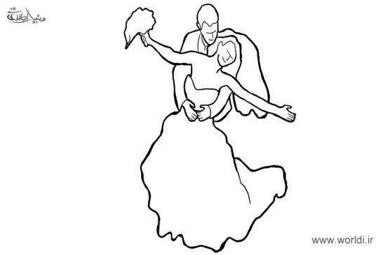 ژست عروس و داماد برای عکاسی